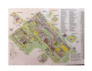 map of washington university – International Catholic Deaf ... Catholic University Map on